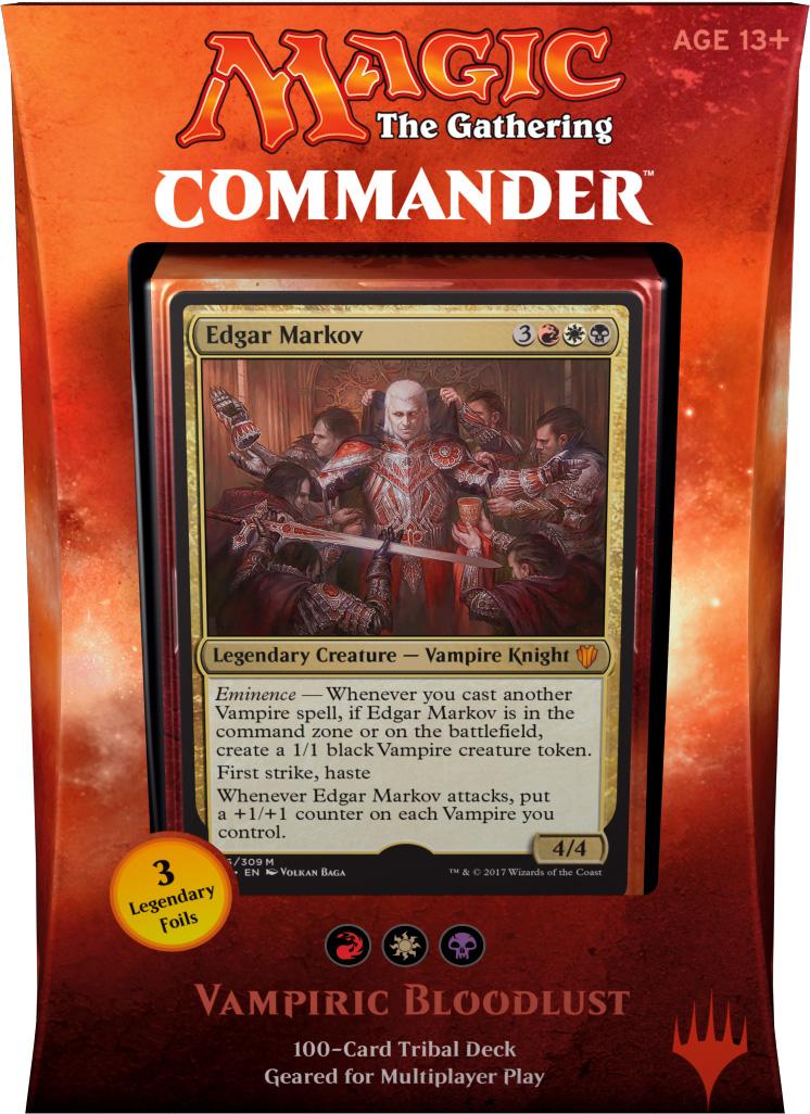 English, Commander 2017, Free P/&P MTG Vein Drinker